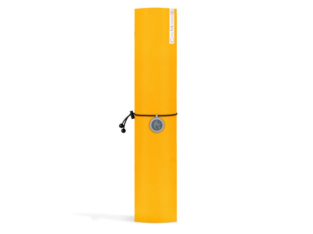 Tapis de Yoga Intensive-Mat 6mm 185 cm x 65 cm x 6.0 mm - Jaune Safran