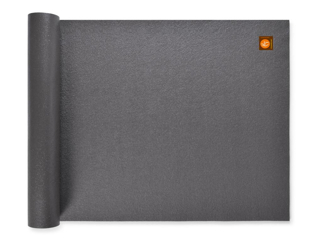 Tapis de yoga Large-Mat 183cm/220cmx80cmx4.5mm Gris