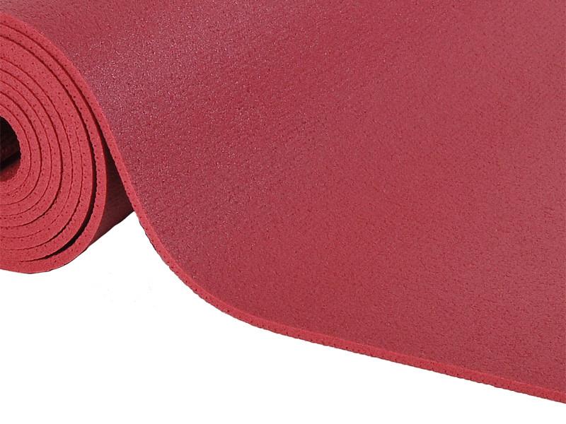 Tapis de yoga Large-Mat 183cm/220cmx80cmx4.5mm Bordeaux
