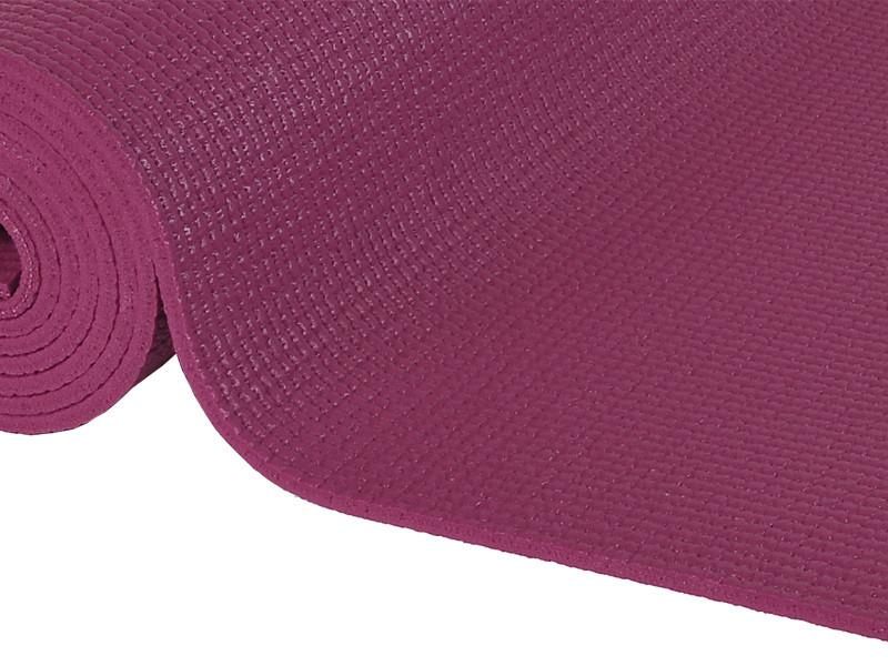 Tapis de yoga Non toxiques - 183cm x 61cm x 4.5mm Prune