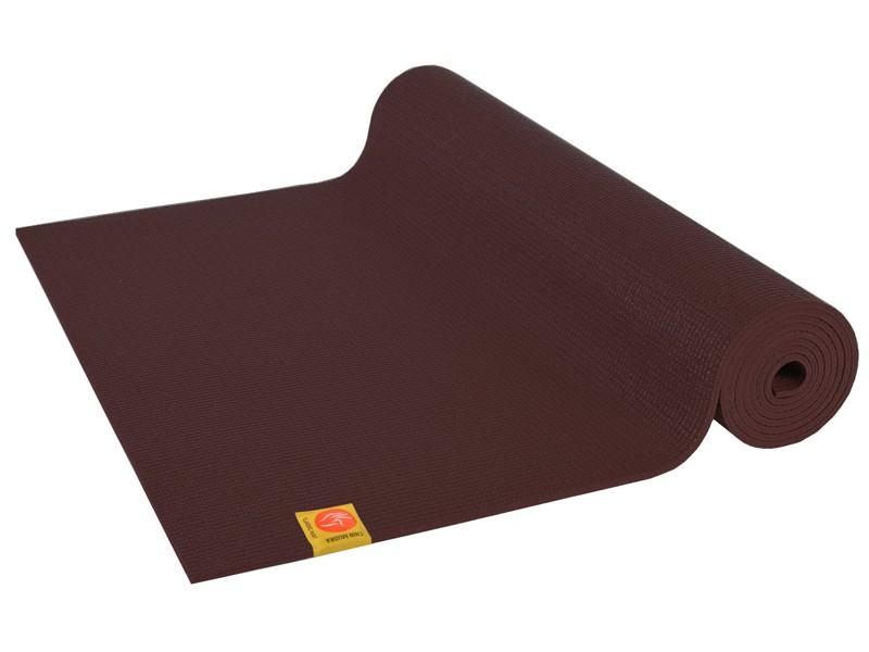 Tapis de yoga Non toxiques - 183cm x 61cm x 4.5mm Chocolat