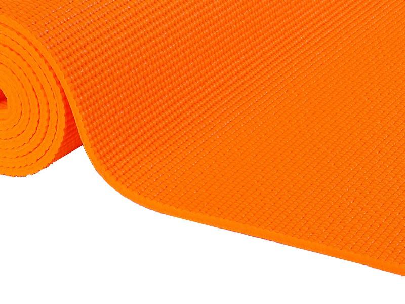 Tapis de yoga Non toxiques - 183cm x 61cm x 4.5mm Orange Safran