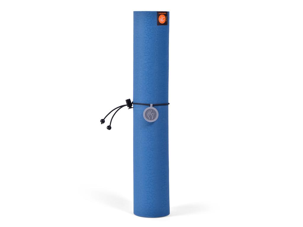 Tapis de yoga Tri Mat - Bleu 183cm x 61cm x 4mm