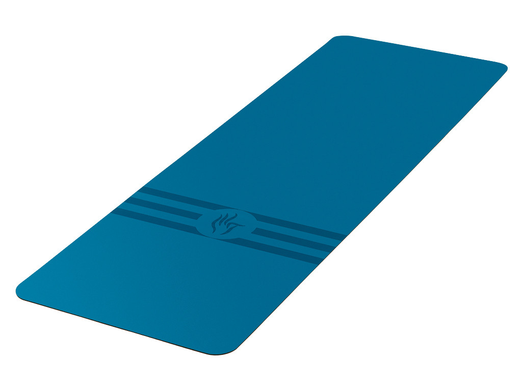 Tapis de yoga Tripundra Mat - Blue 183 cm x 61 cm x 4.0 mm