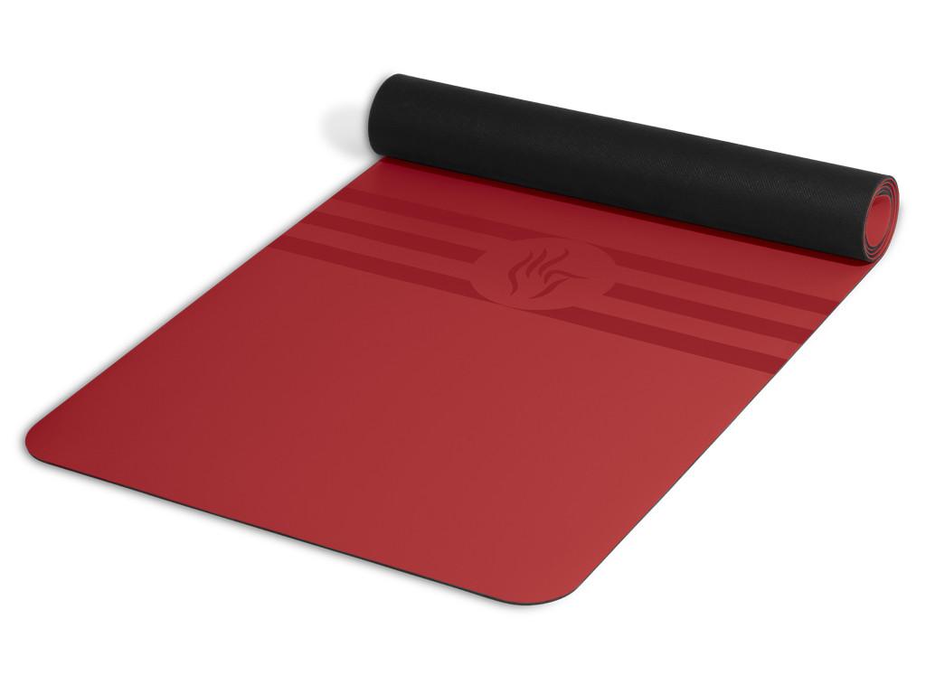 Tapis de yoga Tripundra Mat - Bordeaux 183 cm x 61 cm x 4.0 mm