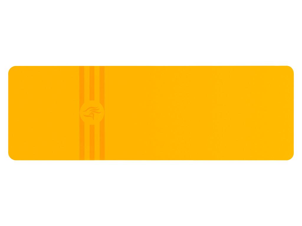 Tapis de yoga Tripundra Mat - Jaune Safran 183 cm x 61 cm x 4.0 mm