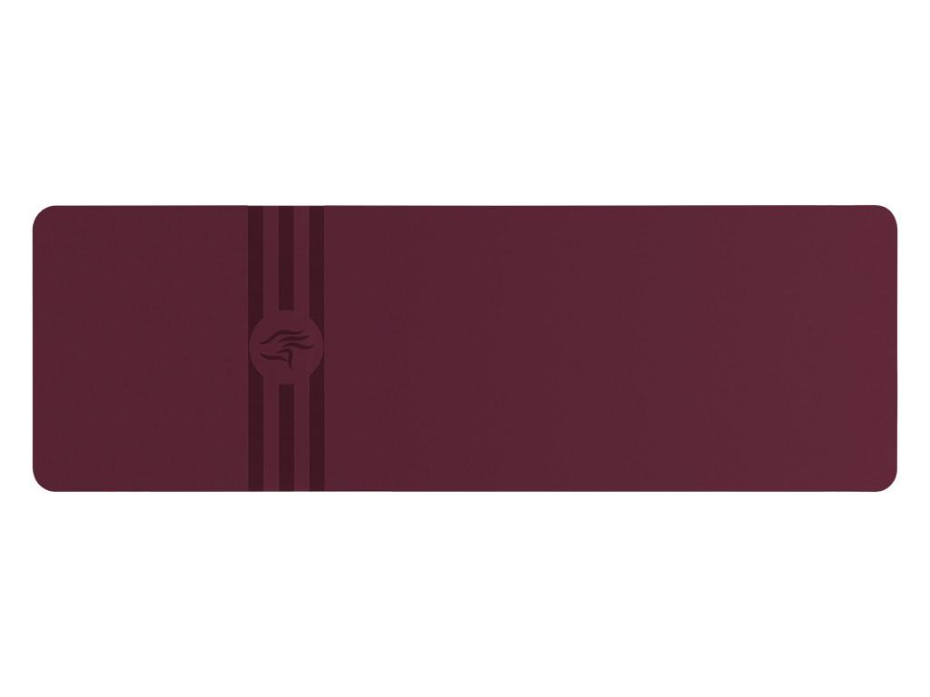 Tapis de yoga Tripundra Mat - Prune 183 cm x 61 cm x 4.0 mm