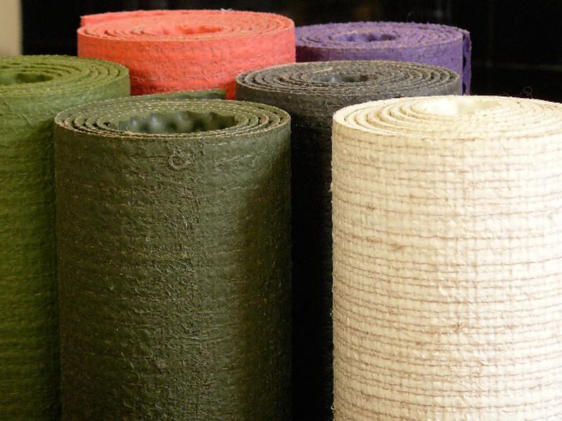 Tapis Eco-Latex 100% pure Latex et Chanvre 5 couleurs