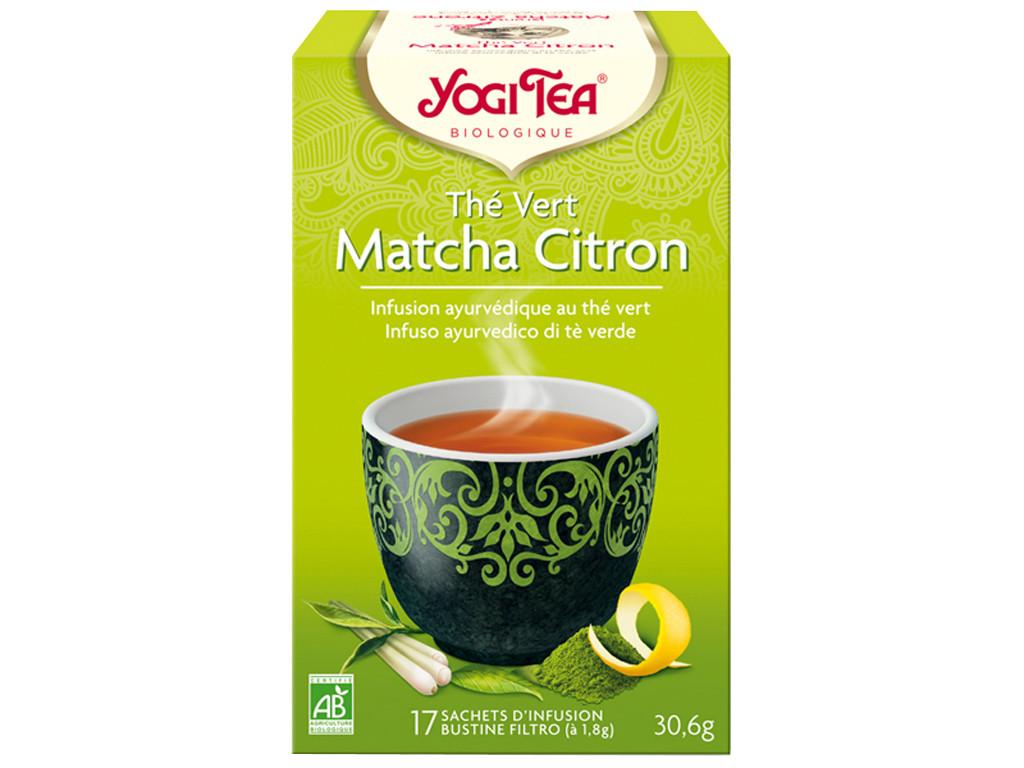 Thé Vert Matcha Citron 30gr