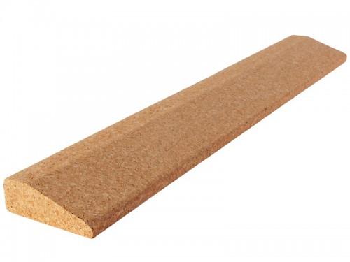 Bloc de yoga incliné Slanting plank liège 60cm x 9cm x 3cm
