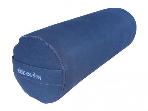 Bolster de yoga 100 % coton Bio 65 cm x 21 cm KAPOK Chin Mudra