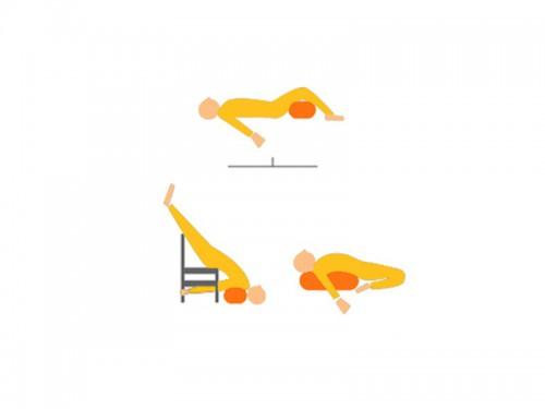 Article de Yoga Bolster de yoga 100 % coton Bio 65 cm x 21 cm KAPOK Prune