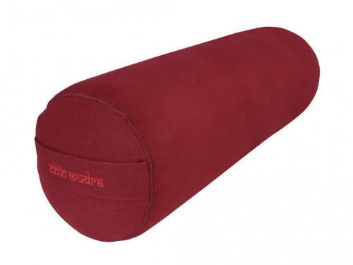 Bolster de yoga 100 % coton Bio Epeautre 65 cm x 21 cm Chin Mudra