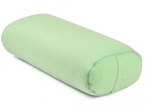 Bolster de yoga Ovale EPEAUTRE 100 % coton Bio 60 cm x15 cm x 30 cm