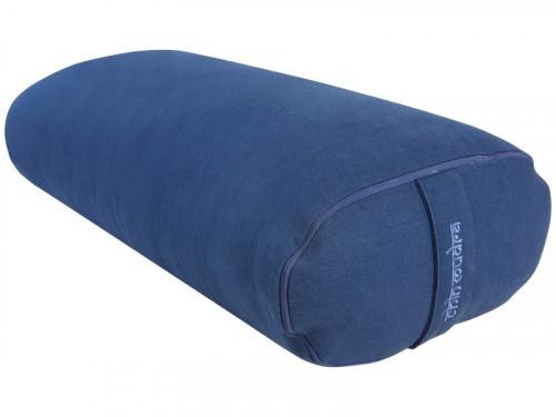 Bolster de yoga Ovale KAPOK 100 % coton Bio 60 cm x15 cm x 30 cm Chin Mudra