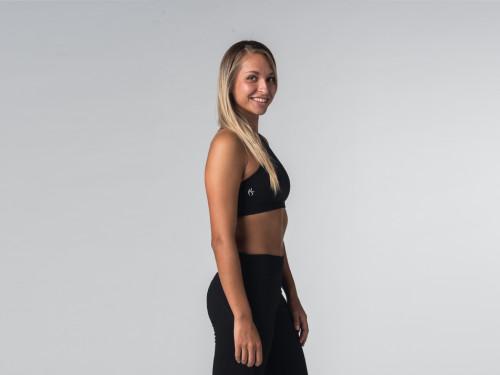 Article de Yoga Brassière de Yoga studio - Coton Bio Noir