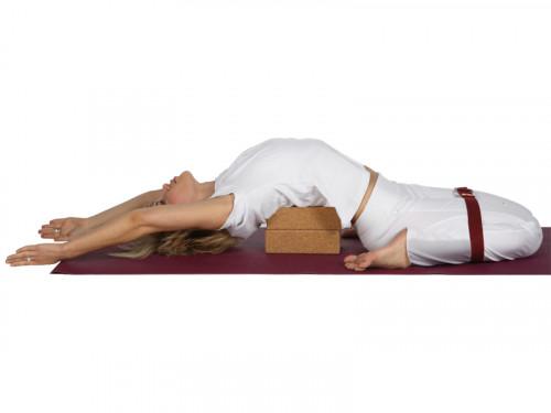 Article de Yoga Brique de yoga Iyengar liège 23cm x 12cm x 7.5cm