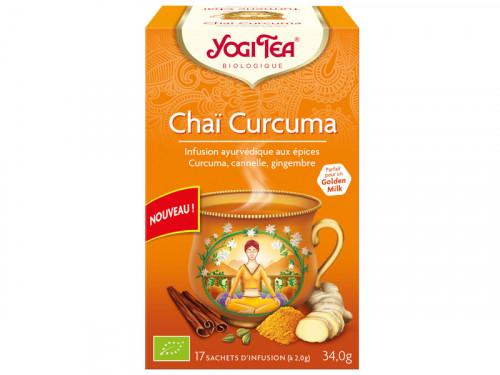 Chaï Curcuma 100% Bio 34gr