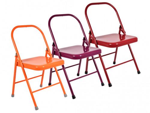 Chaise de Yoga 2 barres Lot de 5