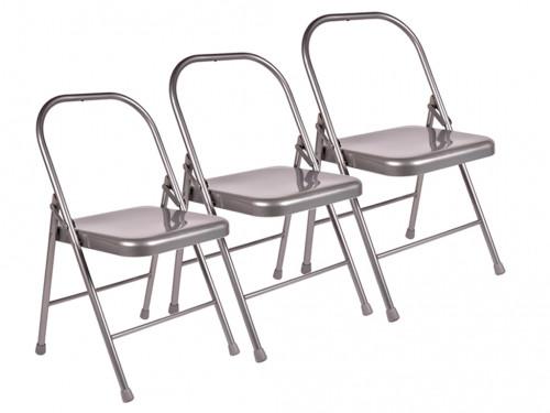 Chaise de Yoga 2 barres Lot de 10