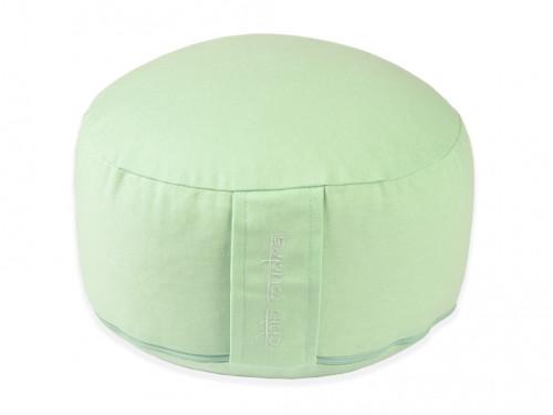 Coussin de méditation Lotus 100% coton Bio Vert Pastel
