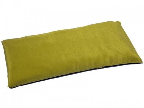 Coussinet pour les yeux - Soie naturel & Lin bio Citron vert
