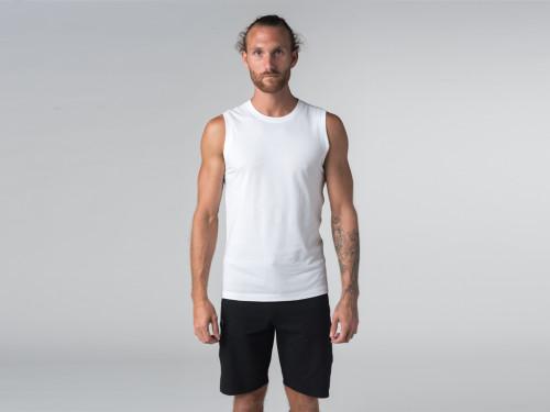 Débardeur de yoga hommes - Coton bio Chin Mudra