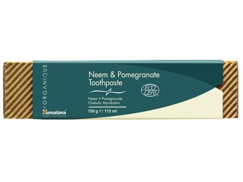 Dentifrice Himalaya Bio Neem et Grenade 150g
