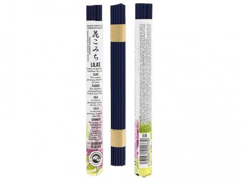 Article de Yoga Encens Japonais ''sans fumée'' Lilas 35 bâtonnets x 30 min