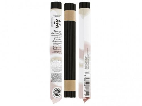 Article de Yoga Encens Japonais ''sans fumée'' Trésor de Douceur 35 bâtonnets x 30 min