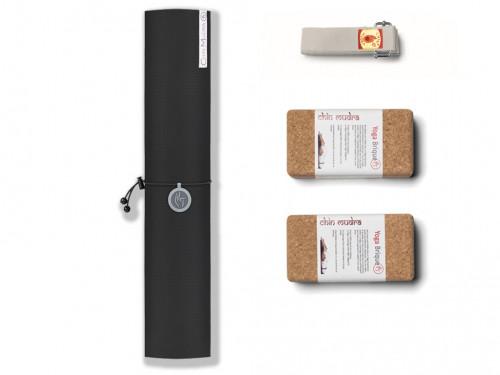 Kit de Yoga Intensive-Mat 4mm Noir