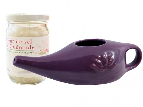 Kit Lota 250ml et Fleur de Sel Prune