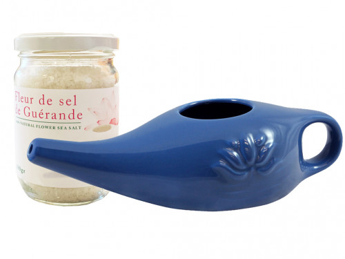 Kit Lota 250ml et Fleur de Sel Bleu