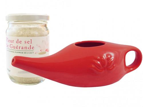 Kit Lota 250ml et Fleur de Sel Red Chili Pepper