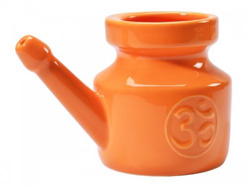 Article de Yoga Kit Lota 400ml et Fleur de Sel Orange