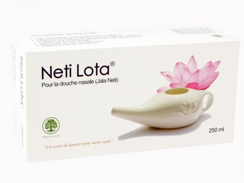 Article de Yoga Lota en porcelaine émaillée 250ml Prune