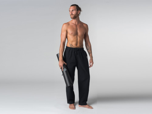 Pantalon de Tai Chi H/F Pavita - 100% coton Bio Chin Mudra