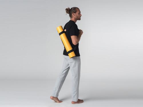 Article de Yoga Pantalon de yoga Confort homme - Coton Bio Gris