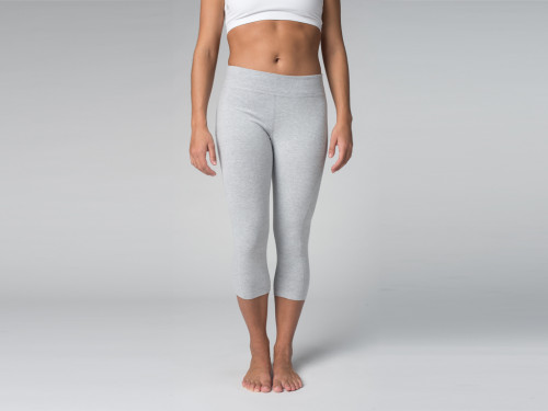 Pantalon de yoga Corsaire 95% coton Bio et 5% Lycra Chin Mudra