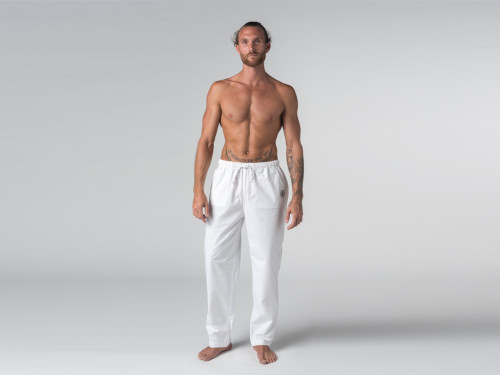Pantalon de Yoga H/F Pavita - 100% coton Bio Chin Mudra