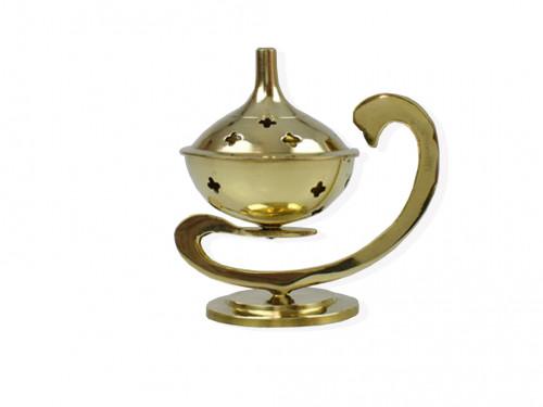 Porte encens Aladin H. : 9,5 cm - Diam. : 6 cm
