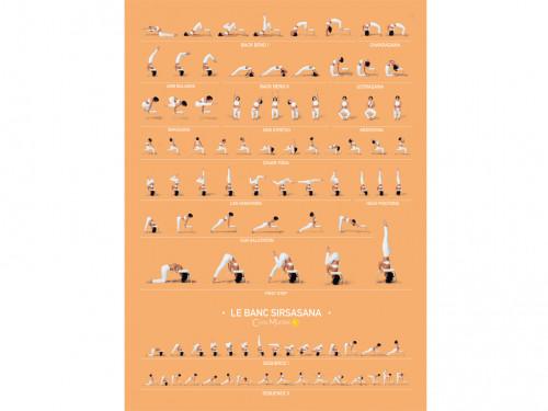 Poster de Sirsasana variations