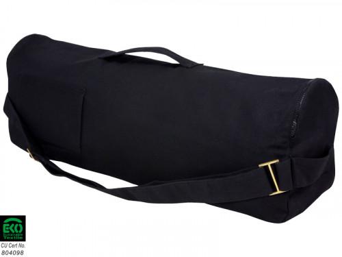 Article de Yoga Sac à tapis de yoga Chic et Cool 100% Coton Bio 70cm x 17cm Noir