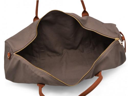 Article de Yoga Sac à tapis de yoga Navy Bag - Coton Taupe 70cm x 20 cm