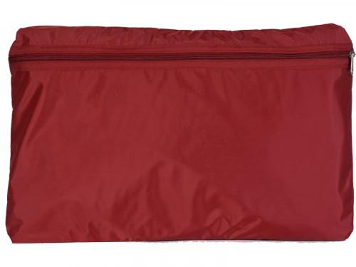 Article de Yoga Sac de transport pour Futon de massage 128cm Bordeaux
