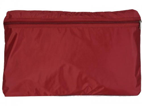 Article de Yoga Sac de transport pour Futon de massage 148cm Bordeaux