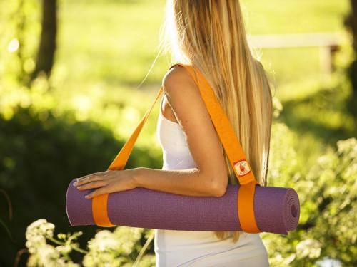Article de Yoga Sangle de transport 2 en 1 - 100% coton Bio Sangle de transport 2 en 1