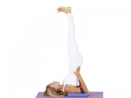 Article de Yoga Sangle de yoga 100% coton Bio boucle 1/2 lune Noir