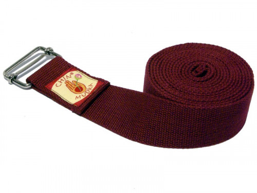 Sangle de yoga coton Bio boucle rectangulaire Chin Mudra