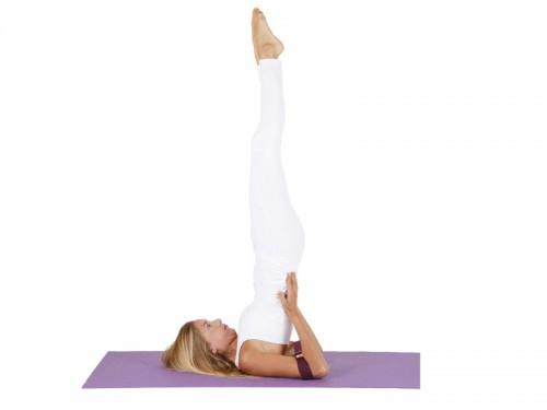 Article de Yoga Sangle de yoga coton Bio boucle rectangulaire Blanche